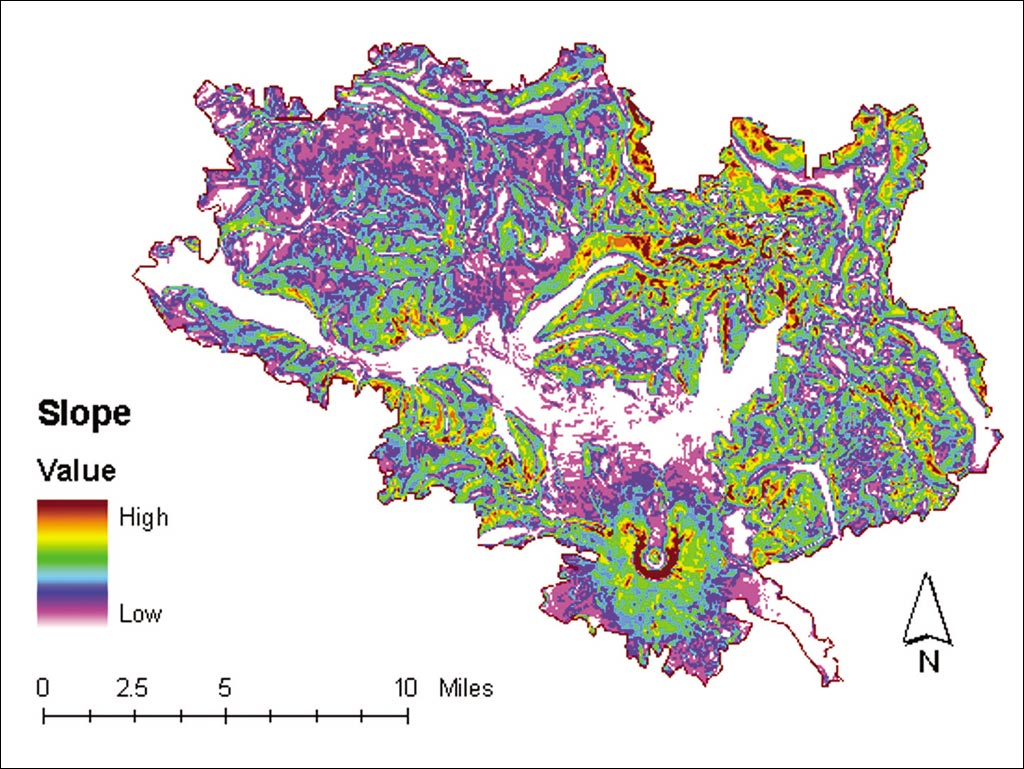 Mt St Helens Washington Map.Esri News Arcnews Spring 2003 Issue Mount St Helens Recovery