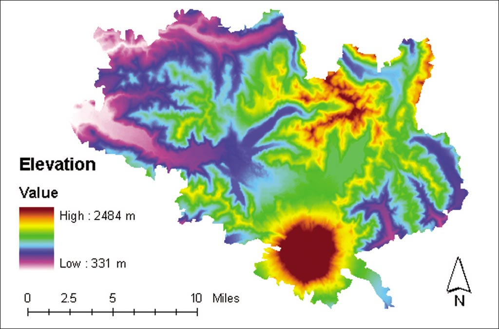 Esri News ArcNews Spring Issue Mount St Helens - Mount saint helens on us map