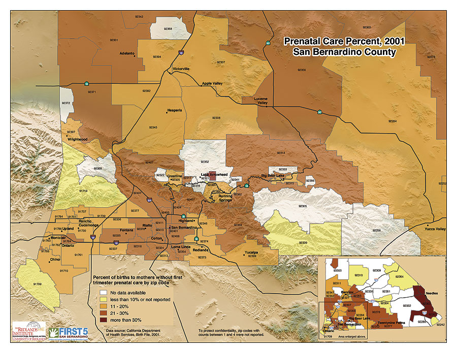 ArcNews Spring Issue San Bernardino County California - Map of san bernardino county