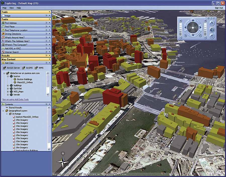 ArcNews Spring Issue Public Beta Of ArcGIS Explorer - Map layers for us arcgis