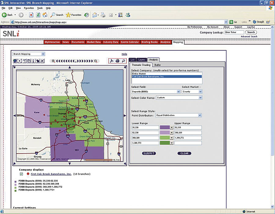 Snli s customers can see and use high quality maps for making business