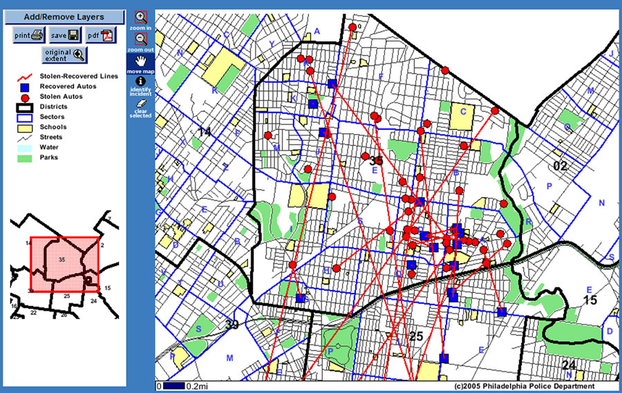 CRIME MAPPING USING GIS PDF