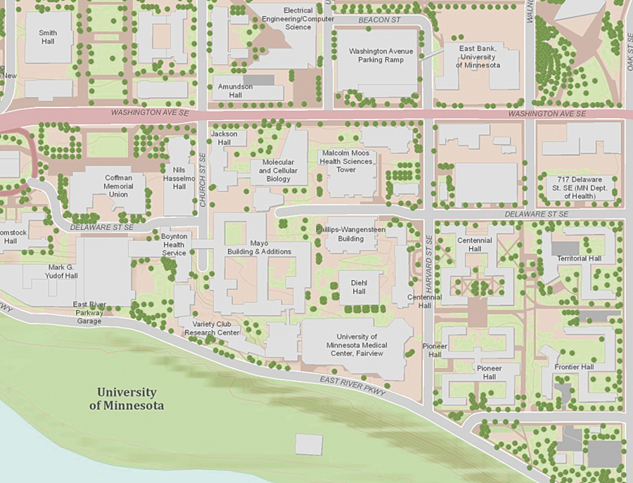 University California Map.Colleges And Universities Participate In Community Maps Program