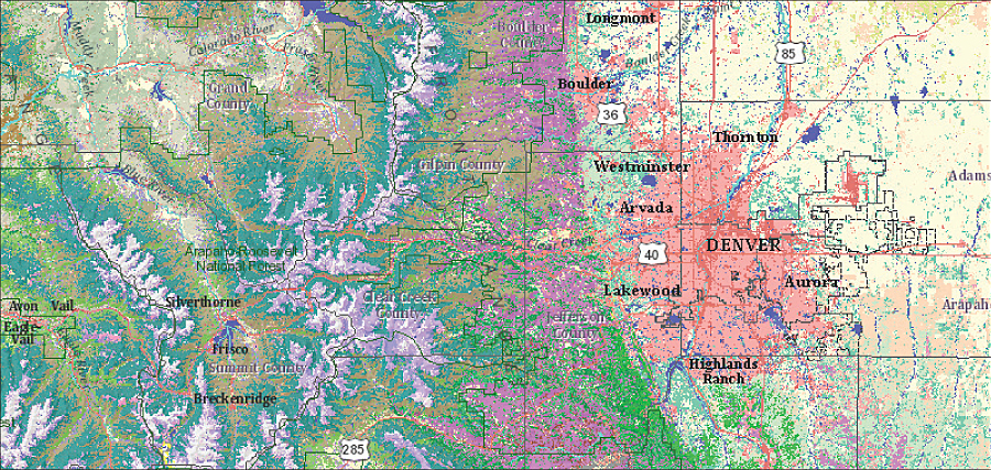New arcgis online content arcnews online multiple levels of land cover classifications for the continental united states from the usgs gap analysis program gap gumiabroncs Choice Image