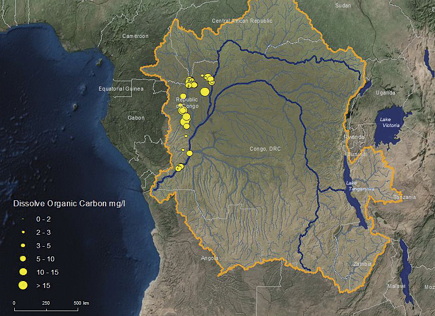 It Must Be Something In The Water ArcNews - World map congo river