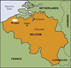 Bruges France Map.Esri News Arcnews Summer 2002 Issue 17th Annual Esri European