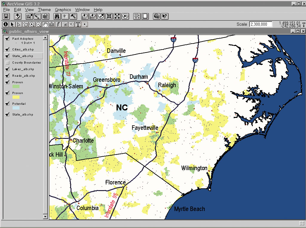 Esri News -- ArcNews Summer 2003 Issue -- Finding Homes for ...