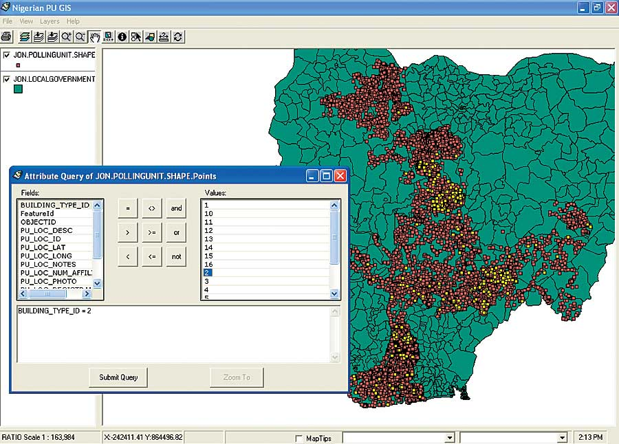 gis application in nigeria This use case demonstrates the benefits of gis cloud for mapping both  fighting electricity theft in nigeria with gis  in the map editor application,.
