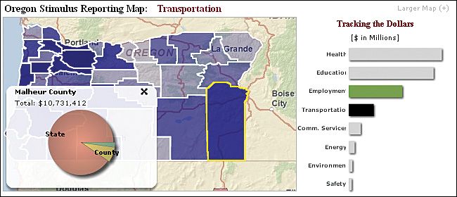 Oregon Moves Ahead With Enterprise Technology Arcnews Summer 2009