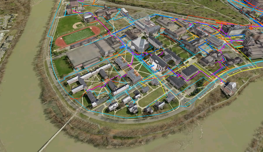 A 3D GIS Solution for Campus Master Planning | ArcNews Online