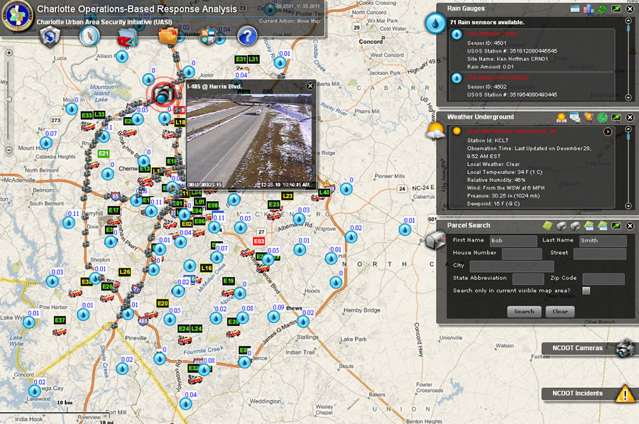 Charlotte Fire Department Links Live Data Multiple Systems Arcnews
