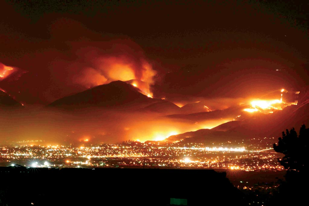 articles about fires in california