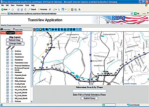 Alabama Power Customer Service >> ArcNews Winter 2005/2006 Issue -- Southern Company's Enterprise GIS Streamlines Communication ...
