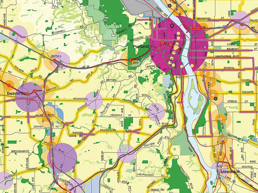 Portland Oregon Trailblazes A Successful Regional Gis Arcnews