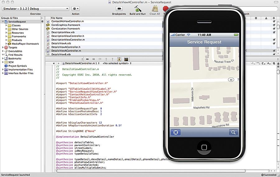 ArcGIS API for iOS Now Available   ArcNews Winter   2010