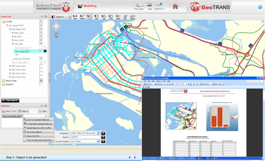 Abu Dhabi DOT Deploys Enterprise GIS to Serve Transportation Plans