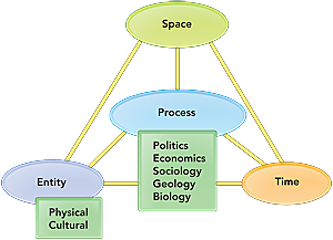 a diagram of the STEP model