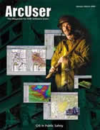 ArcUser Winter 2000 cover