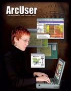 ArcUser Winter 2001 cover