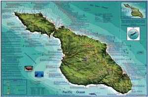 2 mapping a new life map of santa catalina island sciox Gallery