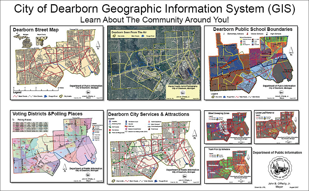 city of dearborn water department