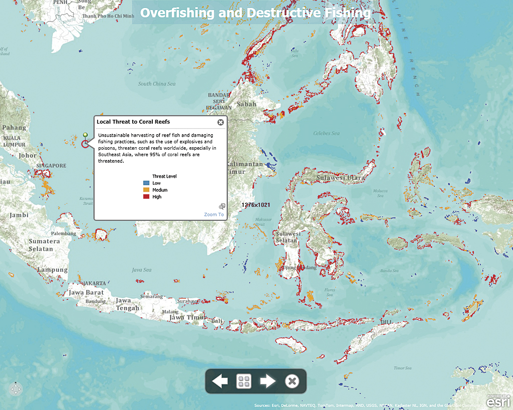 Exploring Threats to Coral Reefs