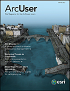 ArcUser Winter 2012 cover