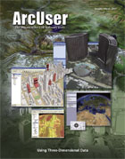 ArcUser Winter 2007 cover