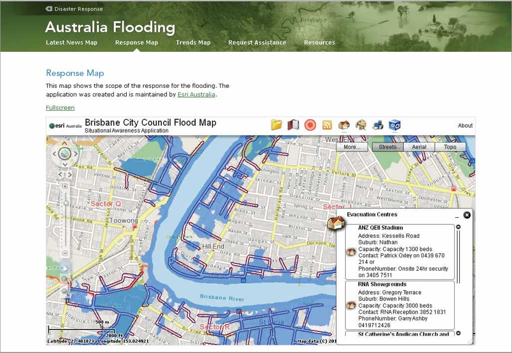 Bcc Flood Maps Cloud GIS