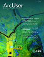 ArcUser Spring 2012 cover