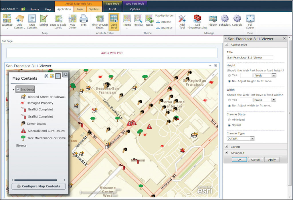 5 Reasons to Use ArcGIS for SharePoint