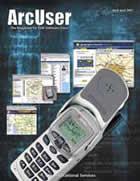 ArcUser Spring 2001 cover