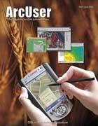 ArcUser Spring 2002 cover