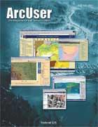 ArcUser Spring 2004 cover