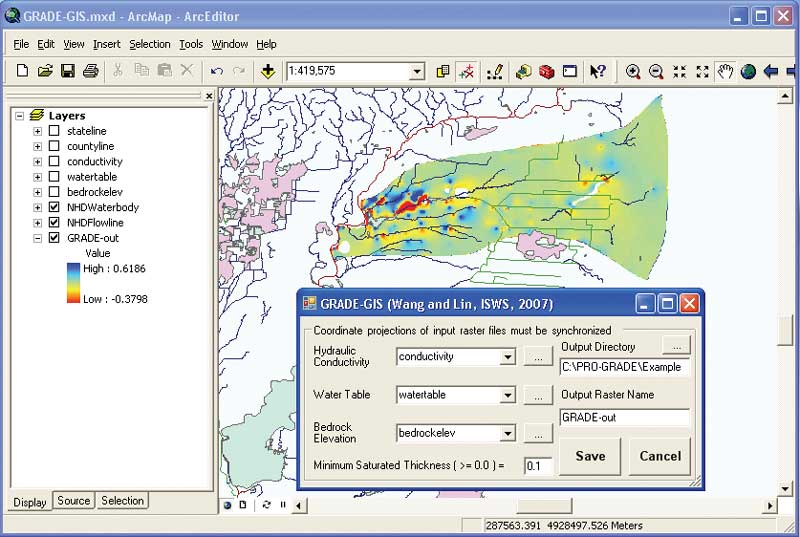 how to create a population density map in arcmap