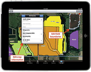 GreatAg for iPad was developed using the ArcGIS Runtime SDK for iOS.