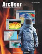 ArcUser Summer 2001 cover
