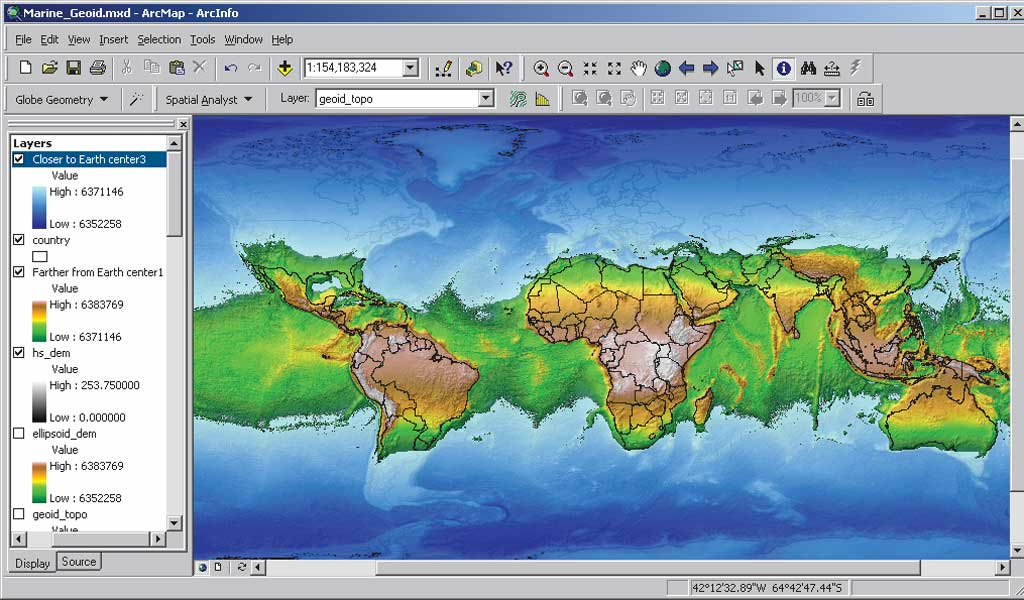 If the earth stopped spinning physics forums httpesrinewsarcuser0703graphicsgeoid7lgg gumiabroncs Images