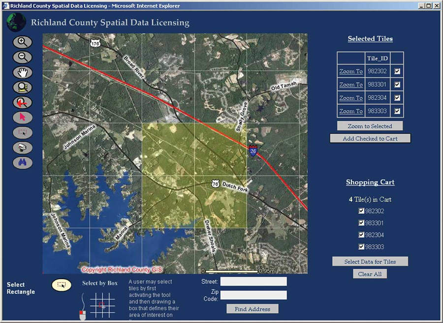 Internet Mapping Changes The Way County Does Business - Find elevation by address
