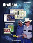 ArcUser Summer 2004 cover