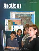 ArcUser Summer 2006 cover