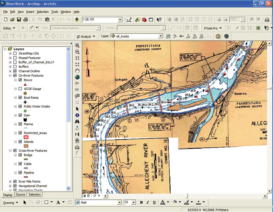 1A Unique Approach to Bathymetry Mapping in a Large River System