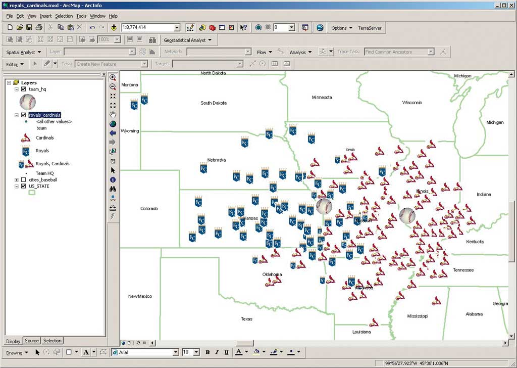 1 using gis to study sports click to enlarge gumiabroncs Gallery