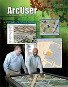 ArcUser Summer 2007 cover