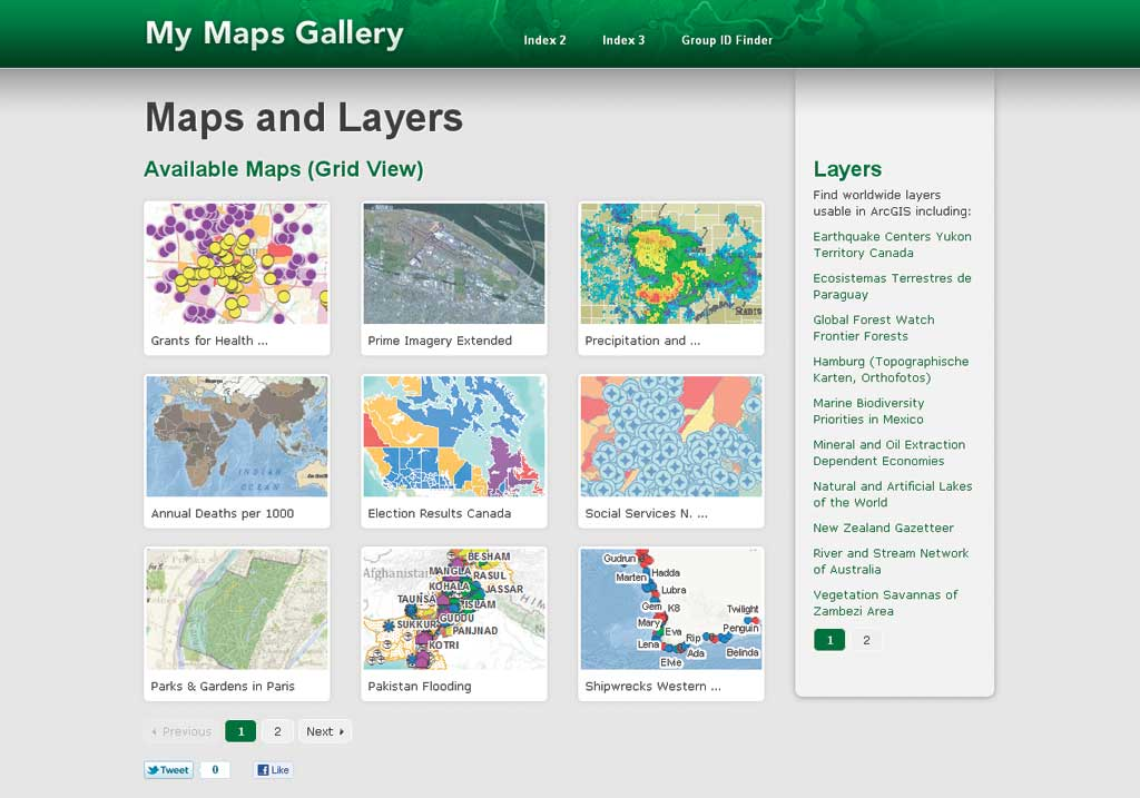 Use ArcGIS Online to Manage Your Own Custom Map Gallery