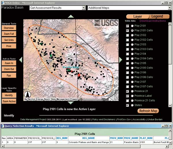 2-USGS National Oil and Gas Assessment Online