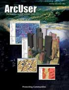 ArcUser Fall 2003 cover