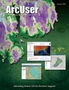 ArcUser Summer 2008 cover