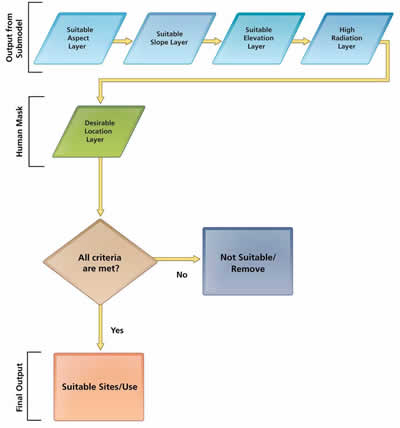 flowchart showing the selection process, see enlargement