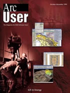 ArcUser Fall 1999 cover